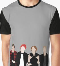 5SOS Silhouettes Graphic T-Shirt