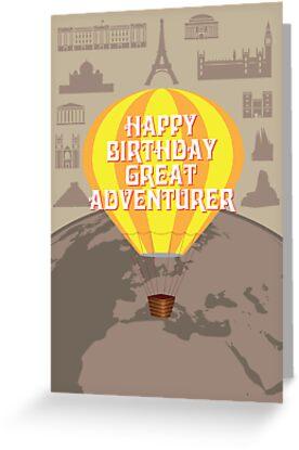 Happy Birthday Great Adventurer by springwoodbooks