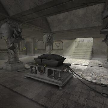underground crypt by ebutler