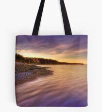 Denman Island Sunset Tote Bag