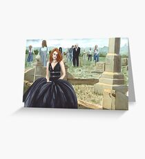 Queen Of The Undead Greeting Card