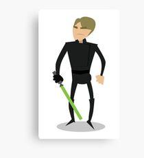 Jedi Luke Canvas Print