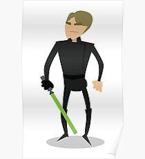 Jedi Luke Poster