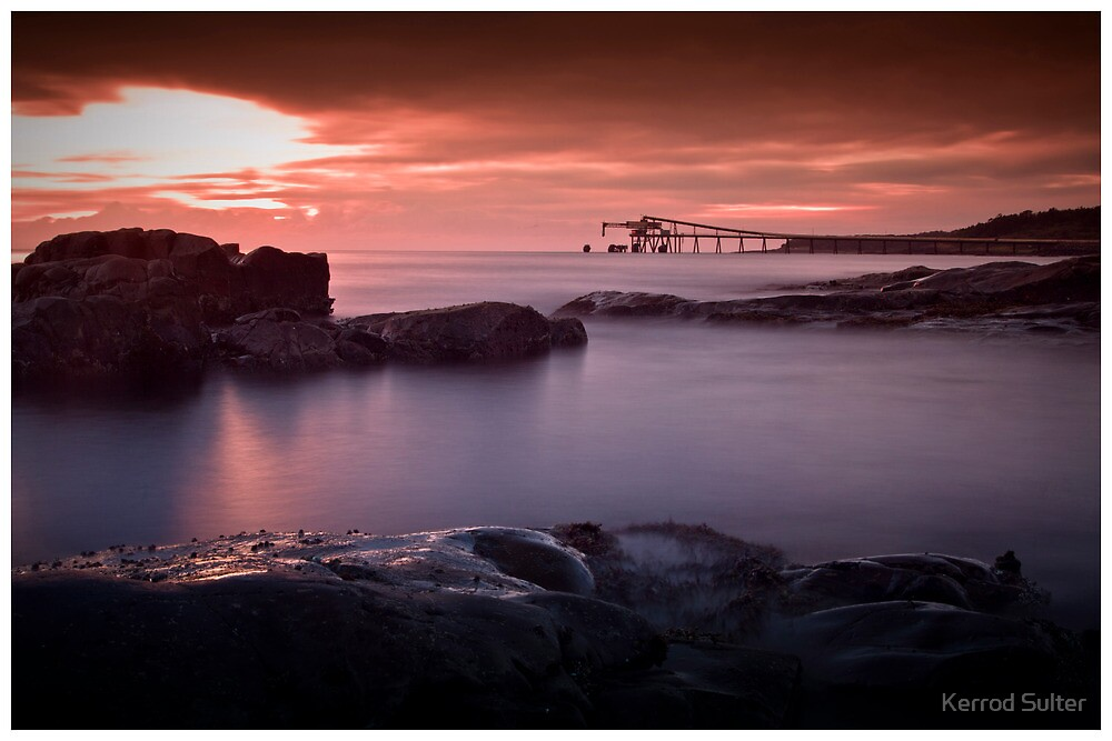 Bass Point Sunrise #5 by Kerrod Sulter