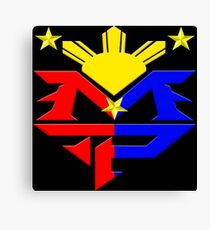 Manny Pacquiao Pac-Man Boxing Champion Canvas Print