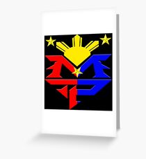 Manny Pacquiao Pac-Man Boxing Champion Greeting Card