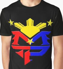 Manny Pacquiao Pac-Man Boxing Champion Graphic T-Shirt