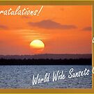 Worldwide Sunsets Group challenge banner by Magriet Meintjes