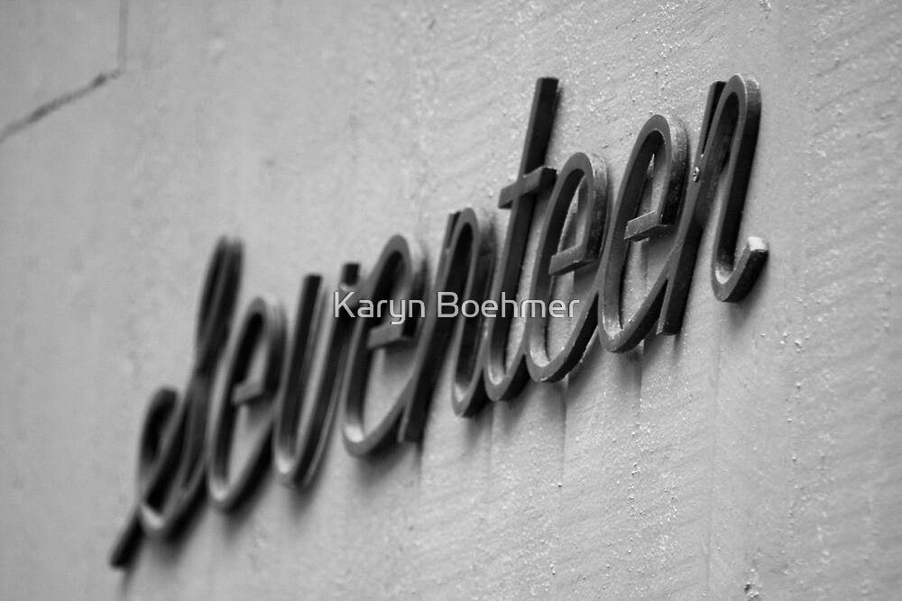 Seventeen... again? by Karyn Boehmer