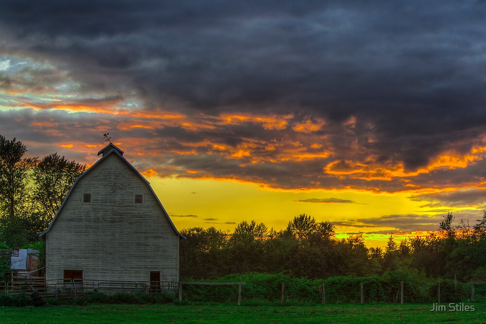 Sunset from Sultan, WA by Jim Stiles