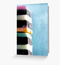 liquorice sea sculpture VI Greeting Card