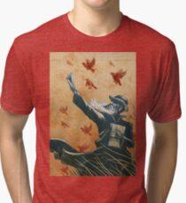 Evolution: A Tribute to Charles Darwin Tri-blend T-Shirt