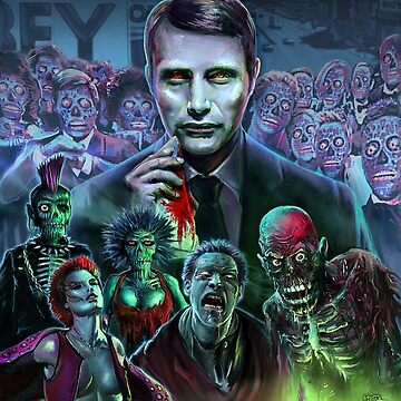 Hannibal Holocaust - They Live - Living Dead by themonsterstore