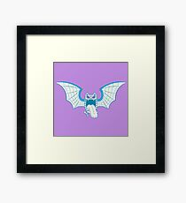 Golbat Pokemuerto | Pokemon & Day of The Dead Mashup Framed Print