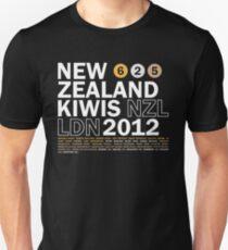 Team New Zealand 2012 Unisex T-Shirt