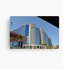 The Jumeirah Hotel, Dubai Canvas Print