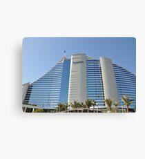 The Jumeirah Hotel in Dubai Canvas Print