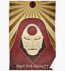 Legend of Korra - Amon Propaganda Poster Poster