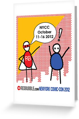 Exclamation Man goes to NYCC by Courtney Taylor