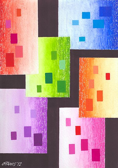 36 RECTANGLES by RainbowArt