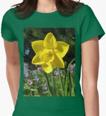 Delightful Daffodil Women's Fitted T-Shirt