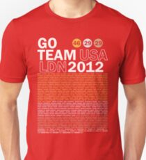 Team USA 2012 Unisex T-Shirt
