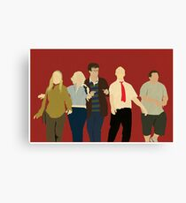 Team Winchester Canvas Print