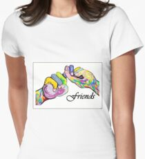 The Sign Language of FRIENDS Womens Fitted T-Shirt
