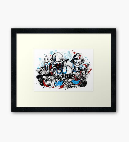 Love is all you need Framed Print