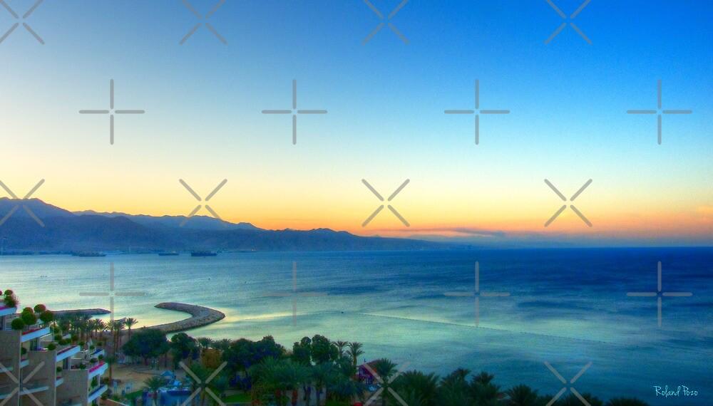 Eilat Sunrise by photorolandi