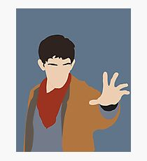 BBC Merlin Silhouette Photographic Print
