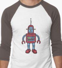 Baby Robot Men's Baseball ¾ T-Shirt