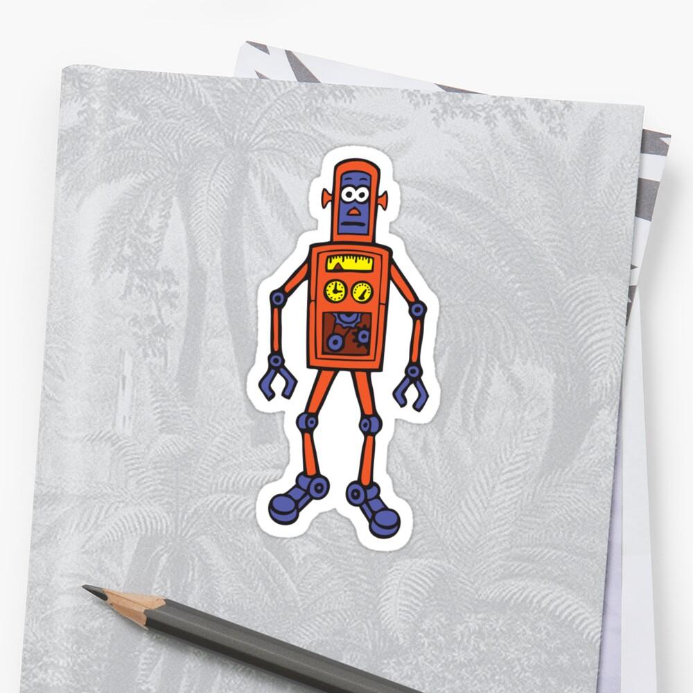 Retro Robot by dukepope