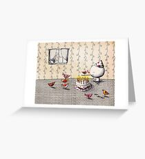 Party for one Greeting Card