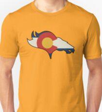 Colorado Flag Design  Slim Fit T-Shirt