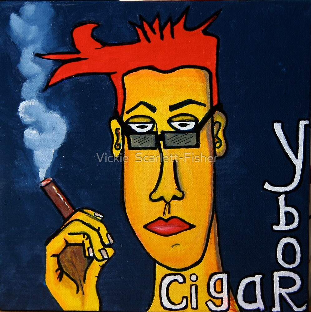 Ybor and Cigars by Vickie  Scarlett-Fisher