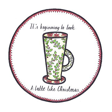 Latte Like Christmas by caromazing