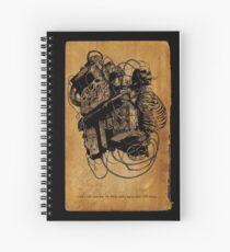 Gospel Machine #1 Spiral Notebook