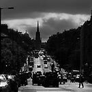 Hanover Street - Princes Street by Chris Clark