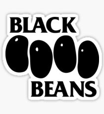 Black Beans Sticker