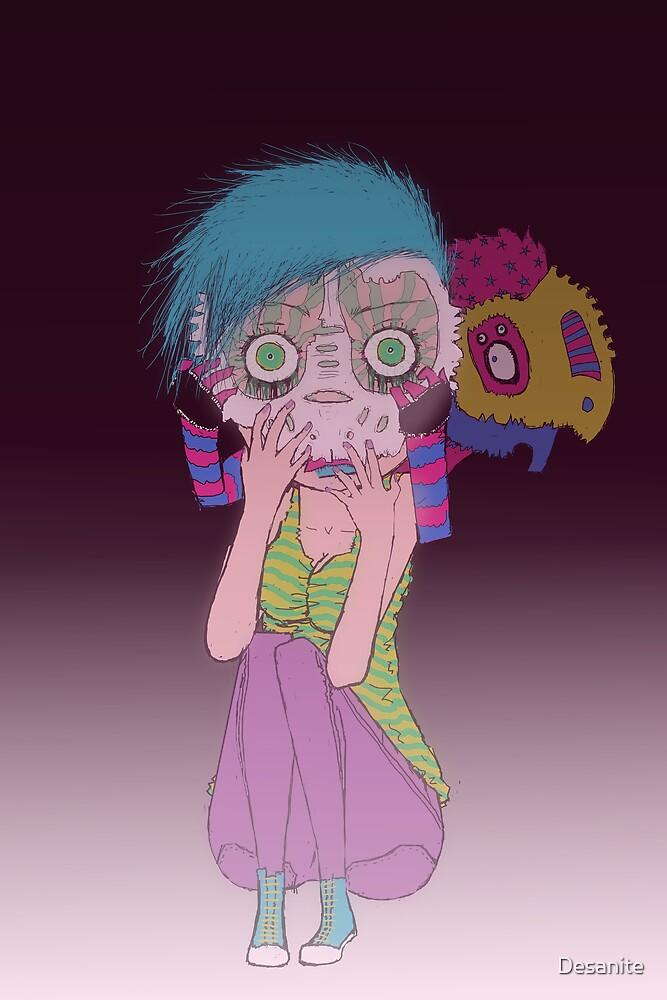 Put on that mask... by Desanite