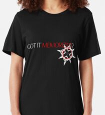 GOT IT MEMORIZED? [ver. 1] Slim Fit T-Shirt