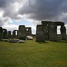 Cloudy Stonehenge by brucemlong
