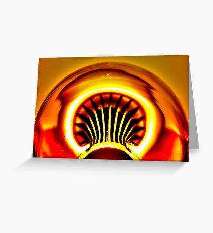 Sun Turbine Greeting Card