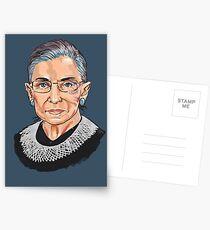 Postales Jueza del Tribunal Supremo Ruth Bader Ginsburg