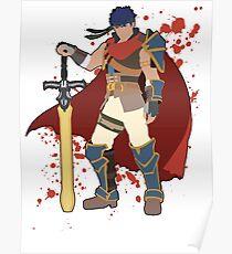 Ike - Super Smash Bros Poster