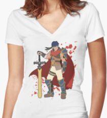 Ike - Super Smash Bros Women's Fitted V-Neck T-Shirt