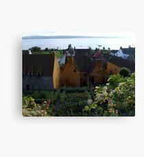 Mary Luke Garden in Culross Canvas Print