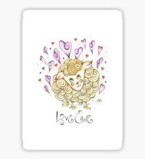Love Ewe Sticker