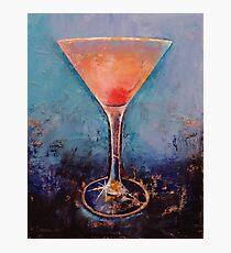 Pink Lemonade Martini Photographic Print